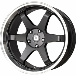 Alu kolo 19x8.5 Drag DR-53 Gloss Black w/Machined Lip