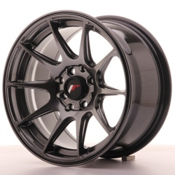 Japan Racing JR11 - 15x8 ET25 4x100/108 Dark Hyper Black