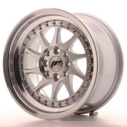 Japan Racing JR26 - 15x8 ET25 4x100/108 Mach Silver
