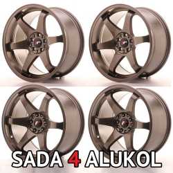 Japan Racing JR3 - 19x9.5 / 10,5 ET22 5x114,3/120 BRONZE - SADA 4 ALUKOL