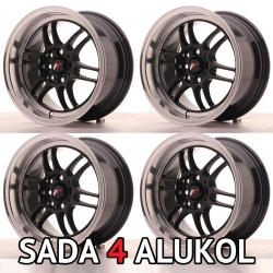 Japan Racing JR7 - 15x8 ET35 4x100/114,3 Gloss Black - SADA 4 ALUKOL
