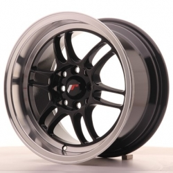 Japan Racing JR7 - 15x8 ET35 4x100/114,3 Gloss Black