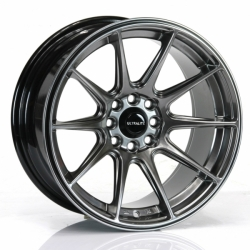 UltraLite alu kolo UL11 Chrome Black - 16x8 4x100/108 ET25