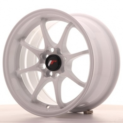 Japan Racing JR5 15x8 ET28 4x100, barva White