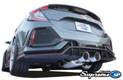 GReddy Supreme SP catback výfuk - Honda Civic X 2.0T Type-R FK8 (17+)