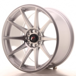 Japan Racing JR11 - 18x9,5 ET22 5x114,3/120, barva Silver Machined