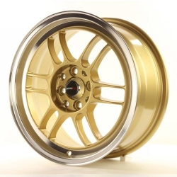 Japan Racing JR7 - 15x8 ET35 4x100/114,3 Gold