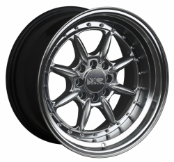 XXR 002.5 Chrome Black - 8x15 4x100/108 ET 20