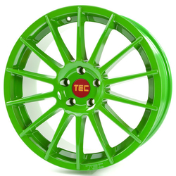 TEC Speedwheels alu kolo AS2 Race Light Green - 19x8,5 ET45 5x108