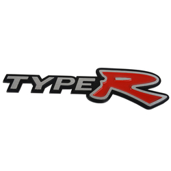 JDM 3D logo Type-R - Honda Civic, Accord, Prelude, S2000, atd.