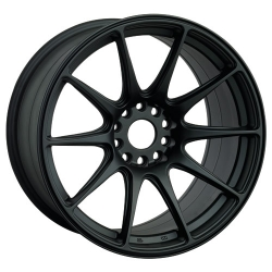 XXR 527 Matt Black - 8.75x19 5x114,3 ET 15