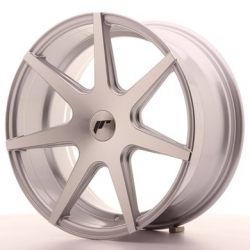 Japan Racing JR20 - 19x8,5 ET35 - 40 4x100 - 4x114,3 a 5x100 - 5x120, barva Silver Machined