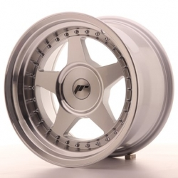 Japan Racing JR6 - 16x9 ET20 4x98 - 4x114,3 a 5x98 - 5x114,3 Mach Silver