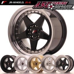 Japan Racing JR6 - 17x8 ET35 4x100 - 4x114,3 a 5x100 - 5x120