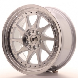 Japan Racing JR26 - 17x8 Mach Silver