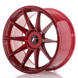 Japan Racing JR11 - 19x9,5 ET35 5x100 - 5x120 Platinum Red
