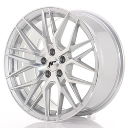 Japan Racing JR28 - 17x8 ET40 4x100 Silver Machined