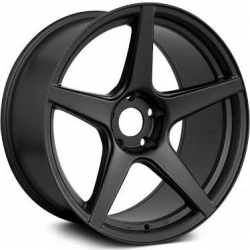 XXR 535 Matt Black - 10.25x18 5x100 ET 20