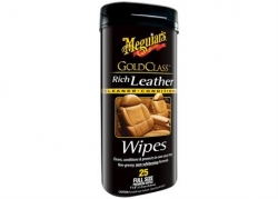Meguiar's Gold Class Rich Leather Wipes - ubrousky 25ks