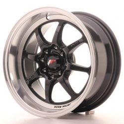 Japan Racing TF2 - 15x7,5 ET30 4x100/108 Gloss Black