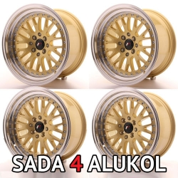 Japan Racing JR10 - 16x8 /16x9 ET10 4x100/114,3 - SADA 4 ALUKOL