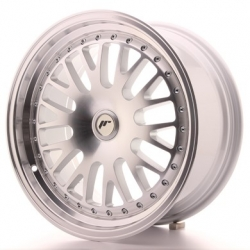 Japan Racing JR10 - 17x8 ET25-35 4x100 - 4x114,3 a 5x100 - 5x120 Silver Mach
