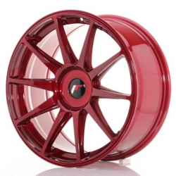 Japan Racing JR11 - 19x8,5 ET25-40 5x100 - 5x120 Platinum Red