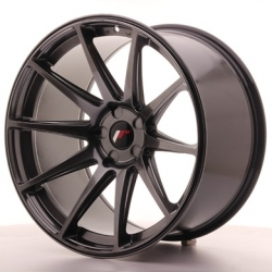 Japan Racing JR11 - 20x11 ET30 5x108 - 5x130 Hiper Black