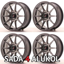 Japan Racing JR11 Hyper Black - 17x7,25 ET35 5x112/114,3 - SADA 4 ALUKOL