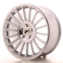 Japan Racing JR16 - 18x8,5 ET40 4x100 - 4x114,3 a 5x100 - 5x120 Mach Silver