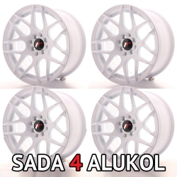 Japan Racing JR18 - 16x8 ET25 4x100/114,3 White - SADA 4 ALUKOL