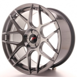 Japan Racing JR18 - 18x9,5 ET43 5x100 - 5x120 Hiper Black