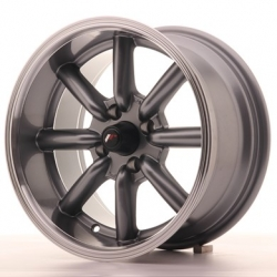 Japan Racing JR19 - 15x8 ET0 4x100 Gunmetal