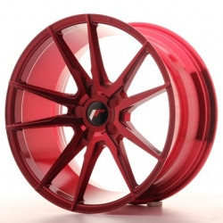 Japan Racing JR21 - 19x9,5 ET20-40 5x108 - 5x130 Platinum Red