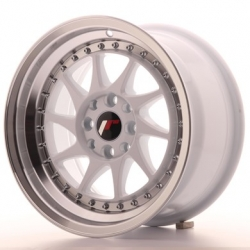 Japan Racing JR26 - 15x8 ET25 4x100/108 White