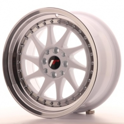 Japan Racing JR26 - 16x8 ET25 4x100/108 White
