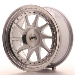 Japan Racing JR26 Mach Silver - 17x8