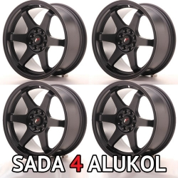 Japan Racing JR3 - 16x8 ET25 5x100/114,3 Matt Black - SADA 4 ALUKOL
