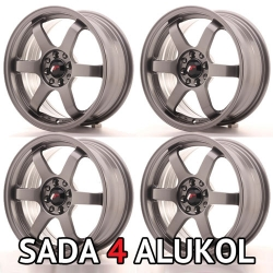 Japan Racing JR3 Gunmetal - 16x7 ET40 5x100/114,3 - SADA 4 ALUKOL