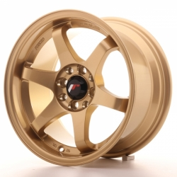 Japan Racing JR3 Gold - 15x8 ET25 4x100/114,3 - SADA 4 ALUKOL