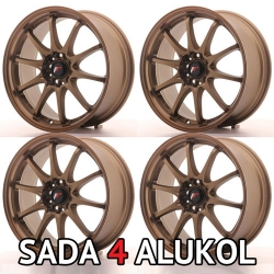 Japan Racing JR5 - 18x8 ET35 5x114,3 Dark ABZ - SADA 4 ALUKOL