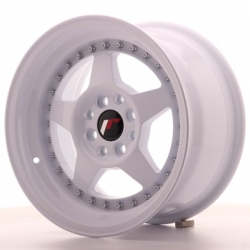 Japan Racing JR6 - 15x8 ET25 4x100/108 White