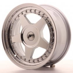Japan Racing JR6 - 16x7 ET20-35 4x98 - 4x114,3 a 5x98 - 5x114,3 Mach Silver