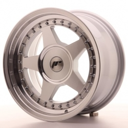Japan Racing JR6 - 16x8 ET10-30 4x98 - 4x114,3 a 5x98 - 5x114,3 Mach Silver