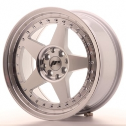 Japan Racing JR6 - 17x8 ET20 4x100/108 Mach Silver