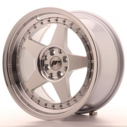 Japan Racing JR6 - 17x9 ET20 4x100/108 Mach Silver