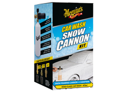 Meguiar's Car Wash Snow Cannon Kit - sada napěňovače a autošamponu Meguiar's Gold Class (473ml)
