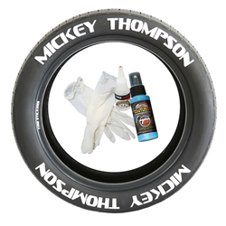Tirestickers nálepky na pneumatiky - MICKEY THOMPSON