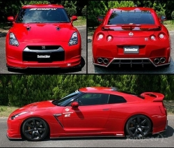 ChargeSpeed Hybrid Bodykit - Nissan GT-R (09+)