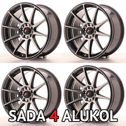 Japan Racing JR18 - 16x8 ET25 4x100/114,3 White - SADA 4 ALUKOL - kopie - kopie